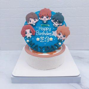 五月天Q版造型蛋糕推薦,mayday生日蛋糕宅配分享
