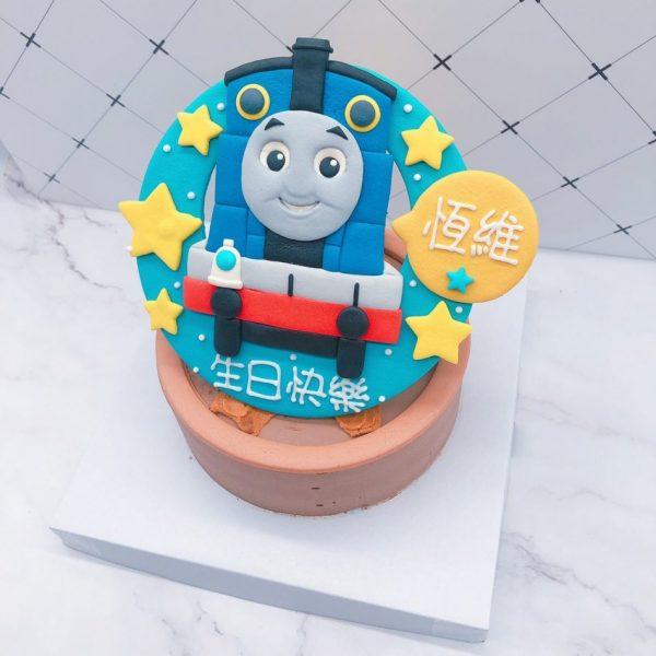 小朋友的愛湯瑪士小火車客製化造型蛋糕,媽媽們大推薦的生日蛋糕