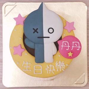韓國BT21生日蛋糕,VAN客製化造型蛋糕來囉!!