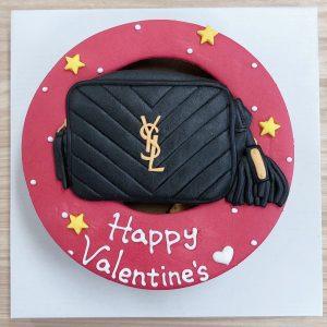 2020情人節蛋糕推薦,YSL名牌包客製化造型生日蛋糕
