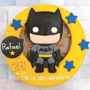 熱門英雄角色Q版蝙蝠俠來囉,蝙蝠俠客製化造型生日蛋糕推薦