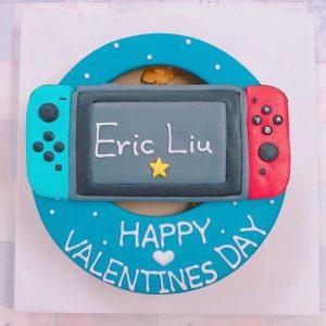 2020情人節蛋糕推薦,Switch遊戲機客製化造型生日蛋糕