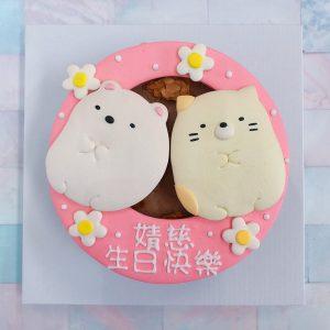 超可愛角落生物生日蛋糕推薦,客製化造型蛋糕由你創造