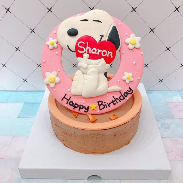 史努比客製化生日蛋糕宅配推薦,花生漫畫造型蛋糕推薦