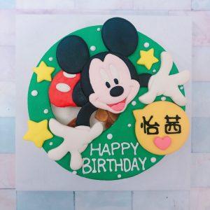 迪士尼造型客製化宅配蛋糕推薦,米奇造型生日蛋糕