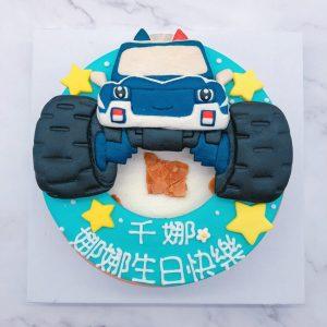 小朋友最愛的怪獸警車造型蛋糕推薦