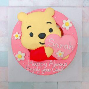迪士尼造型客製化宅配蛋糕推薦,小熊維尼造型生日蛋糕