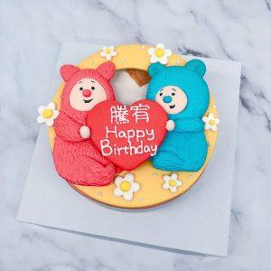 比莉和班班生日蛋糕推薦