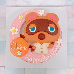 動物森友會生日蛋糕推薦,超可愛狸克造型蛋糕宅配