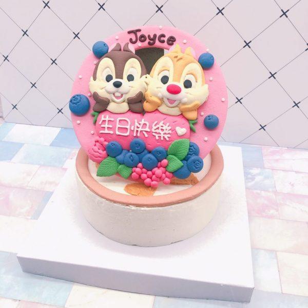 奇奇蒂蒂生日蛋糕