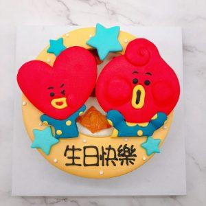 BT21生日蛋糕推薦,TATA客製化造型蛋糕來囉!