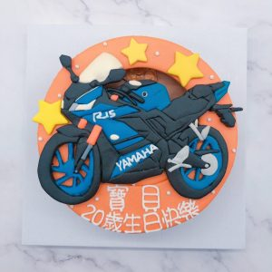 YAMAHA 重機生日蛋糕推薦,R15客製化蛋糕宅配