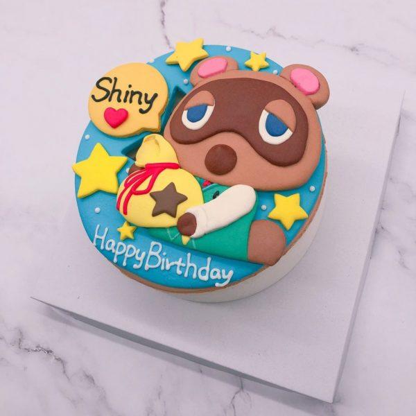 動物森友會生日蛋糕推薦, 超可愛狸克造型蛋糕訂購