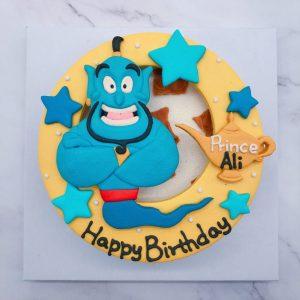 阿拉丁神燈客製化造型蛋糕,台北阿拉丁生日蛋糕推薦