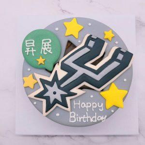 馬刺造型蛋糕推薦,NBA籃球生日造型蛋糕宅配