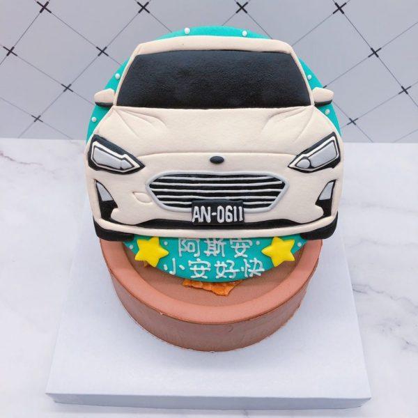ford車子生日蛋糕,福特汽車造型蛋糕宅配