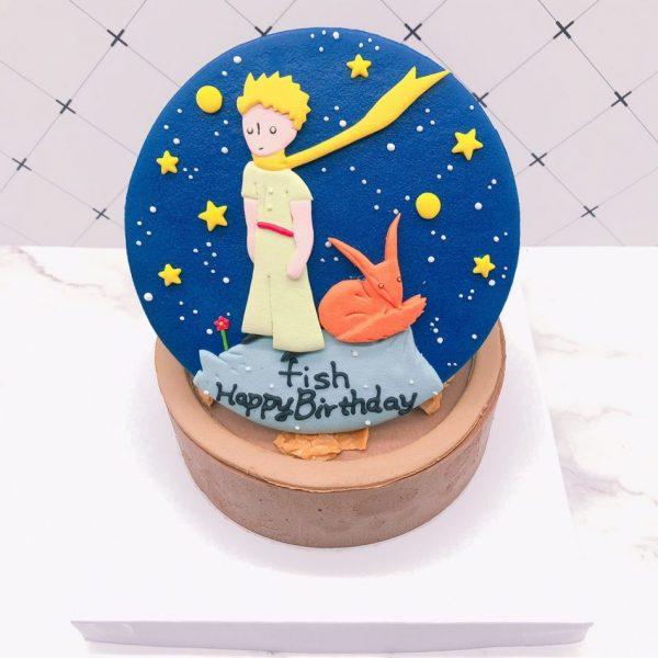 小王子造型蛋糕推薦,狐狸生日蛋糕宅配訂購