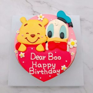 小熊維尼生日蛋糕推薦,唐老鴨造型蛋糕宅配