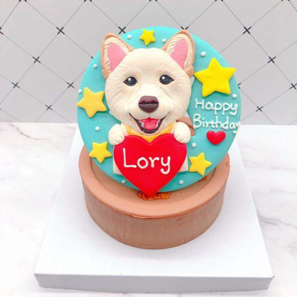 超可愛狗狗造型蛋糕推薦,台北寵物生日蛋糕宅配