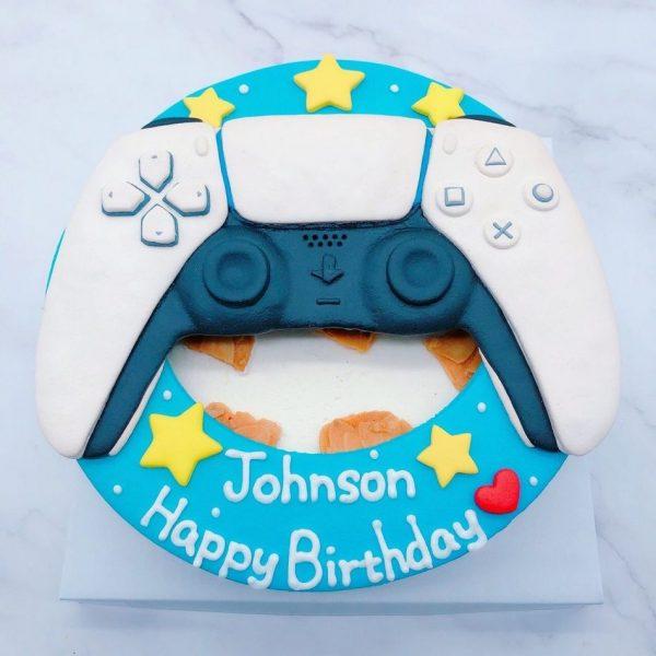 PS5搖桿造型蛋糕推薦,DualSense遊戲手把生日蛋糕宅配