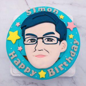 2020人像造型蛋糕推薦,客製化生日蛋糕宅配訂購