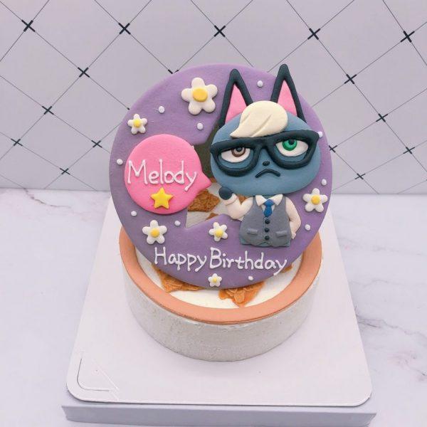 動物森友會造型蛋糕推薦,傑克生日蛋糕宅配