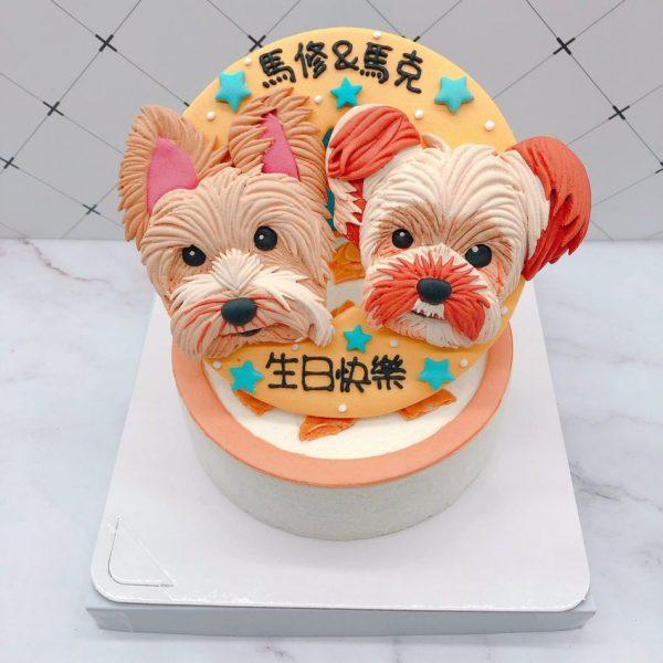 雪納瑞造型蛋糕推薦,寵物生日蛋糕宅配
