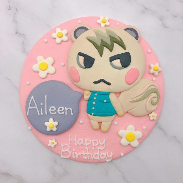 小潤造型蛋糕推薦,動物森友會生日蛋糕推薦