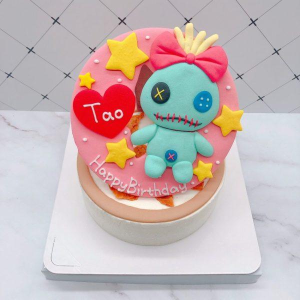 醜丫頭造型蛋糕推薦,星際寶貝卡通生日蛋糕宅配