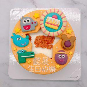 阿奇幼幼園造型蛋糕推薦,卡通生日蛋糕宅配訂購
