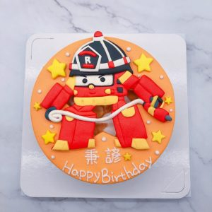 救援小英雄造型蛋糕推薦,羅伊生日蛋糕宅配