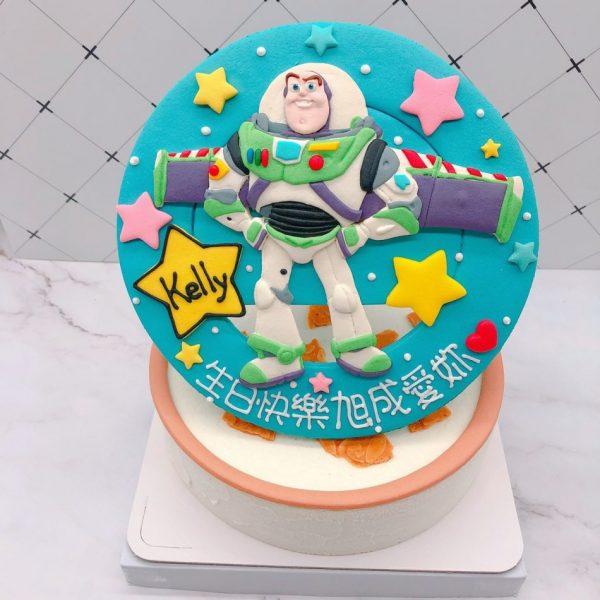 巴斯光年造型蛋糕推薦,玩具總動員生日蛋糕宅配