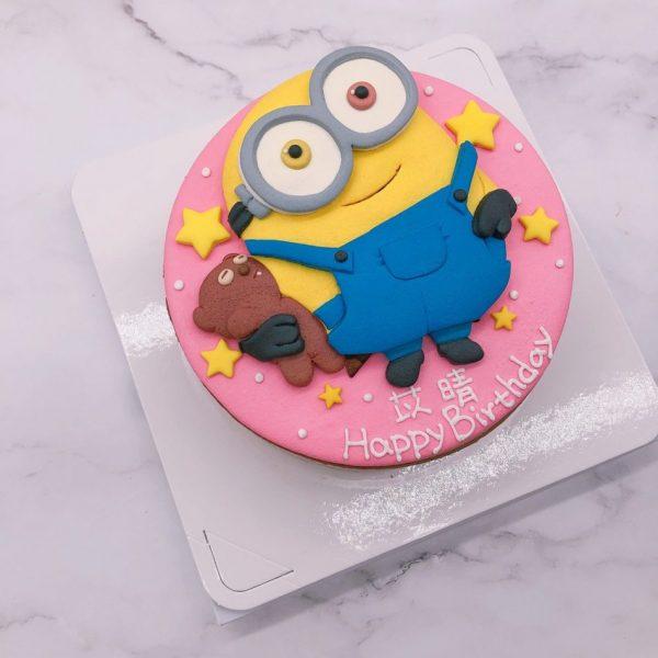 台北小小兵生日蛋糕推薦,Minions客製化造型蛋糕宅配