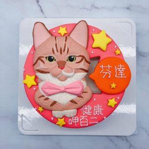 台北貓咪造型蛋糕推薦,寵物生日蛋糕宅配訂購