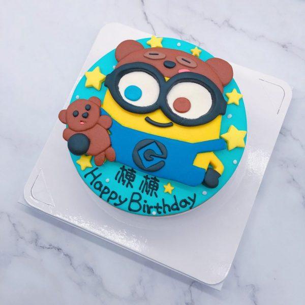 小小兵生日蛋糕推薦,Minions客製化造型蛋糕宅配