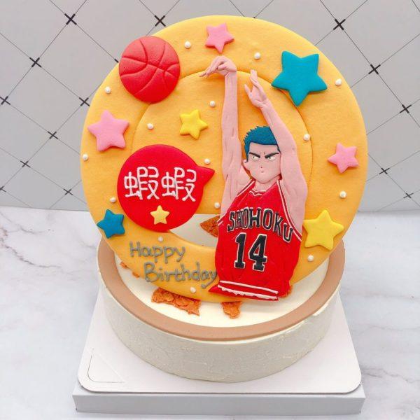 三井壽造型蛋糕推薦,灌籃高手生日蛋糕宅配