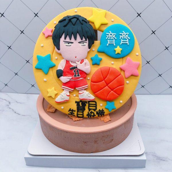 流川楓造型蛋糕推薦,灌籃高手生日蛋糕宅配