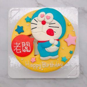 哆啦A夢客製化蛋糕,卡通人物生日蛋糕宅配