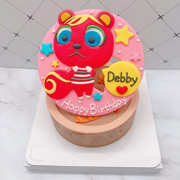 動物森友會造型蛋糕推薦,賈蘿琳生日蛋糕宅配