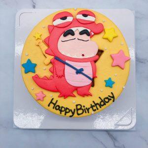 台北蠟筆小新生日蛋糕推薦,卡通造型蛋糕作品分享