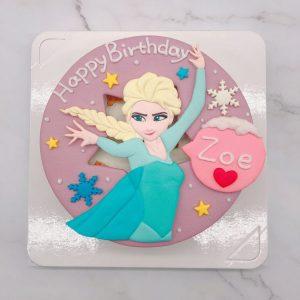 台北艾莎公主造型蛋糕,ELSA生日蛋糕推薦