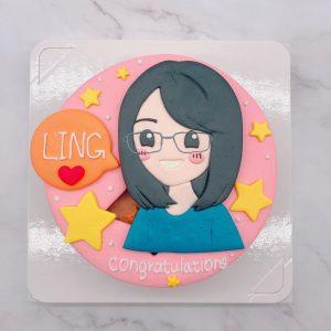 台北客製化造型蛋糕,Q版人像生日蛋糕推薦分享