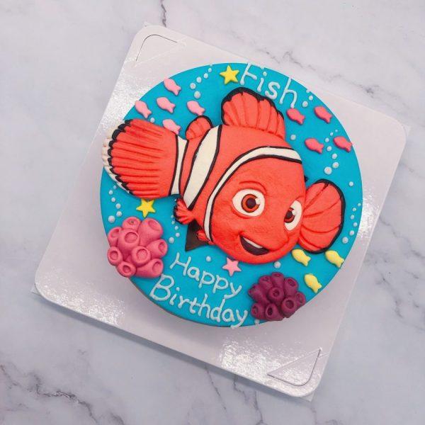 尼莫造型蛋糕推薦,海底總動員生日蛋糕宅配