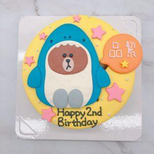 台北熊大手作造型蛋糕推薦,貼圖生日蛋糕作品分享