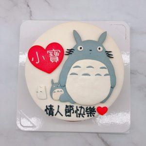 Totoro龍貓造型蛋糕,台北宮崎駿系列生日蛋糕推薦