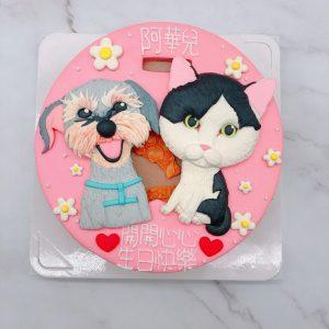 寵物貓咪生日蛋糕推薦,狗造型蛋糕宅配訂購