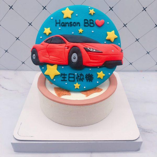 Tesla汽車造型蛋糕 ,特斯拉車子生日蛋糕推薦