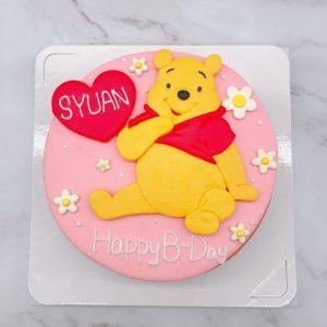 小熊維尼生日蛋糕推薦,台北卡通造型蛋糕宅配