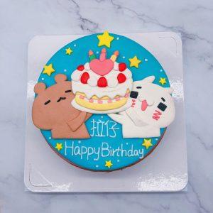 台北客製化造型蛋糕推薦,兔子造型蛋糕宅配