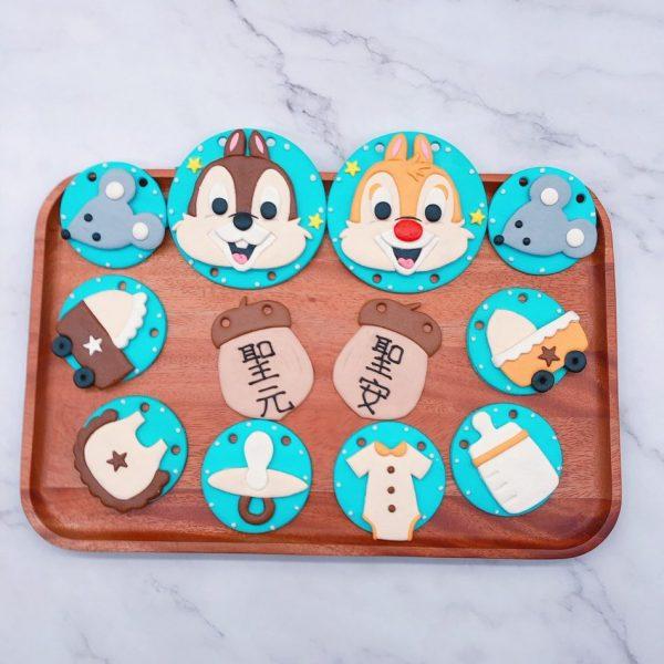台北奇奇蒂蒂收涎餅乾作品分享,寶寶客製化收涎餅乾